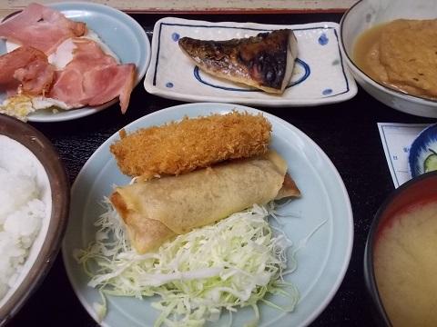 久しぶりの四品定食@乃んき