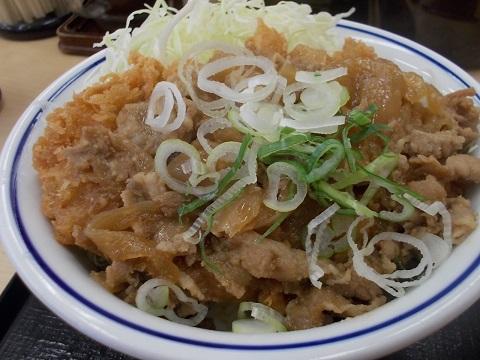 肉盛りカツ丼