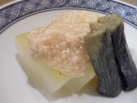 冬瓜の翡翠煮