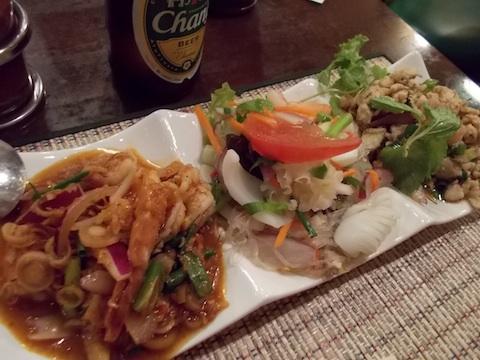 タイのサラダ3種盛り