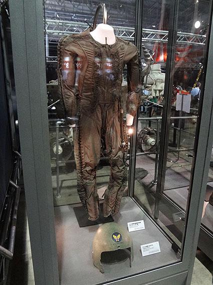 アメリカ空軍の高高度用与圧服