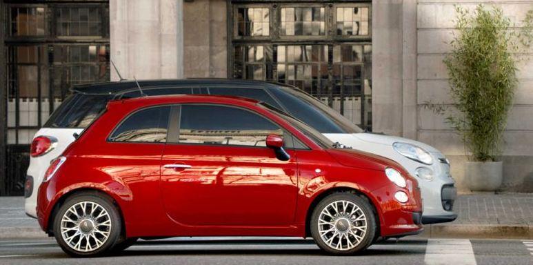 Fiat 500L 比較