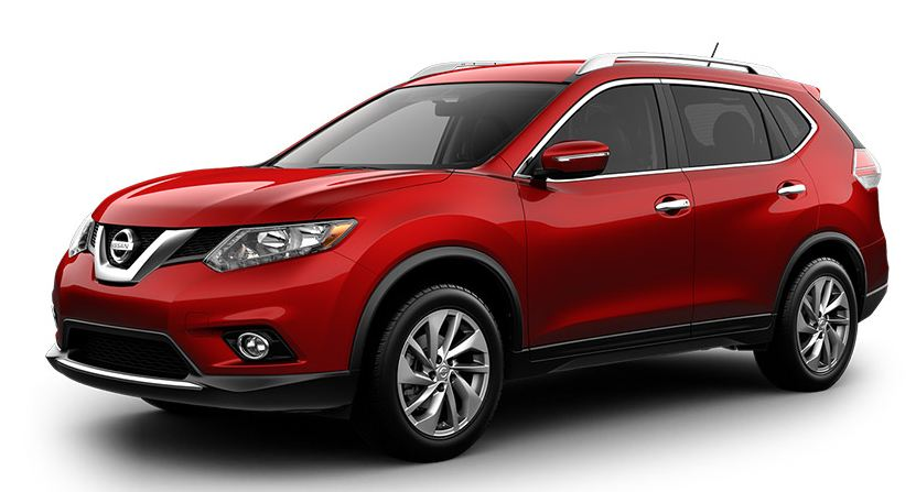 nissan rogue 2017 red