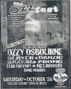1st ozzfest