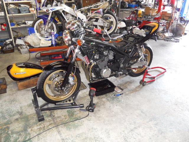 TM納車整備エンジン (1)