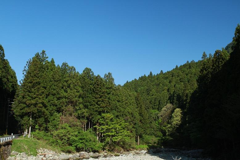 天川村、2