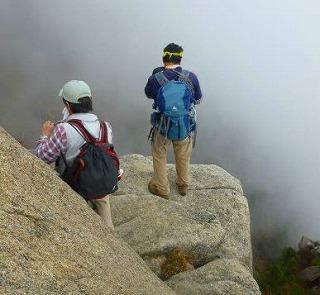 141026御在所岳大黒岩にて三重の山男さん撮影