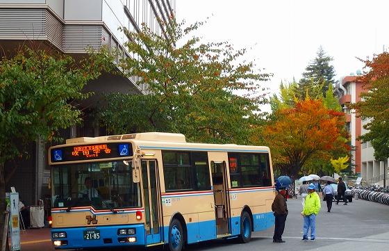 141022キャンパス間連絡バス