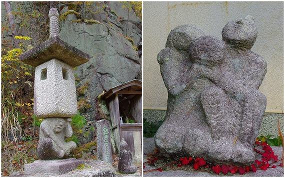 141118多田銀銅山石像