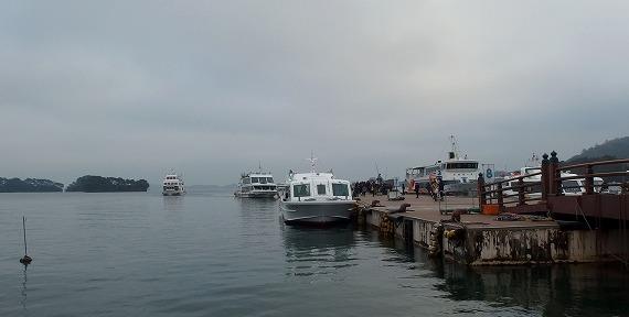141129松島観光船発着