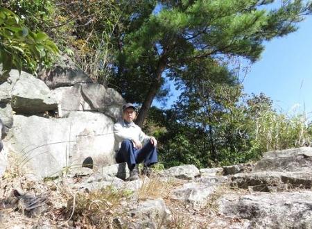 センブリと小岱山 153