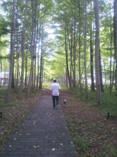 軽井沢散歩