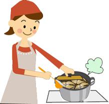 魚料理-主婦