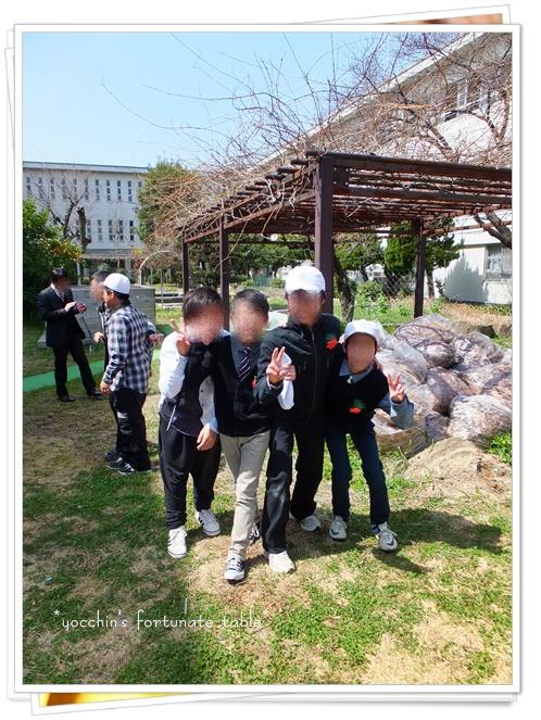 *長男小学校卒業式ブログ用②*