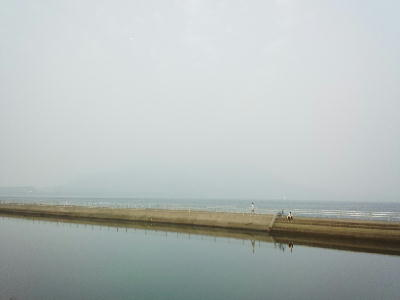 2013年5月21日の桜島・・見えない