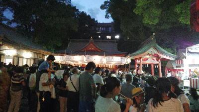 荒田八幡宮 六月灯1