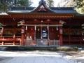 晩秋の社殿