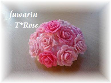 薔薇 ペーパーウェイト