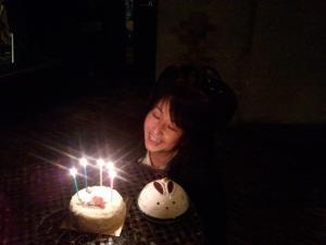 ピョン誕生祝い