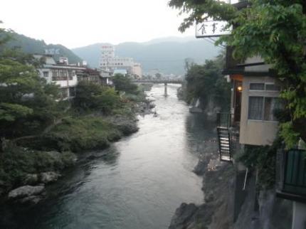 橋からの眺め