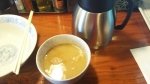 千思萬考 つけそば 塩 スープ割り 14.10.25