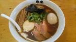 田家 特製煮干しそば 細麺・醤油 14.10.28