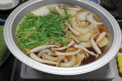 鍋:野菜一式