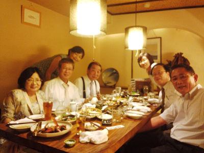 福岡先生との食事会