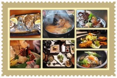 牡蠣づくし料理