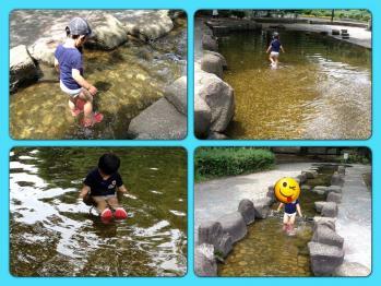 水遊び@鶴舞公園