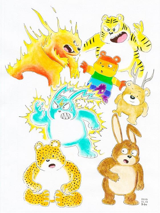 改造熊7種 2010/10/10