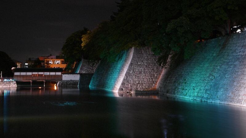 福井城址ライトアップ02