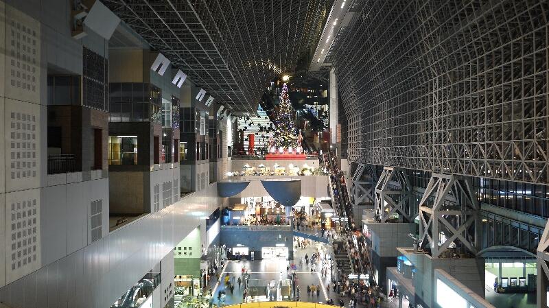 20131201京都駅クリスマスツリー02