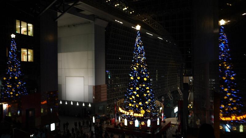 20131201京都駅クリスマスツリー04