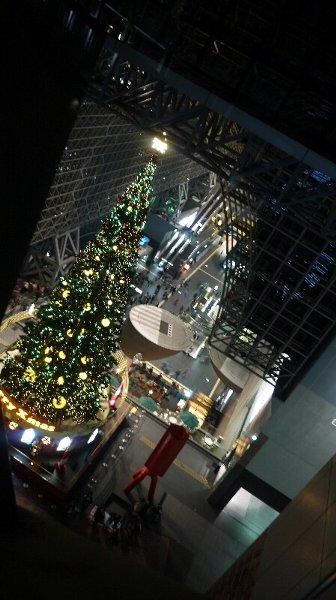 20131201京都駅クリスマスツリー01