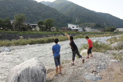 2013 白川郷ひらせオートキャンプ場5