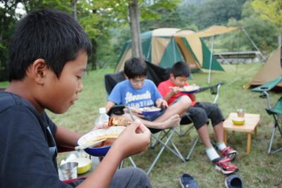 2013 白川郷ひらせオートキャンプ場15