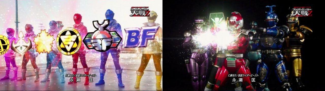 直撃世代メタルヒーローゴーカイチェンジ×6!
