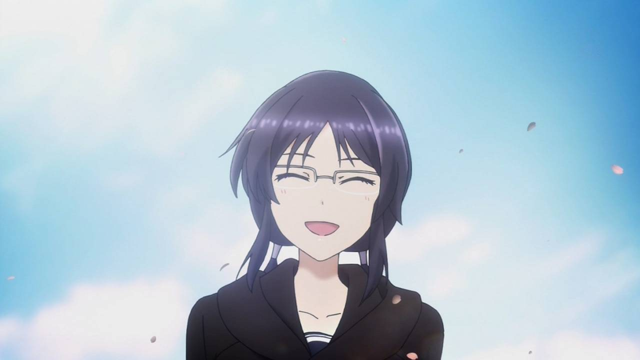 笑顔の彼女