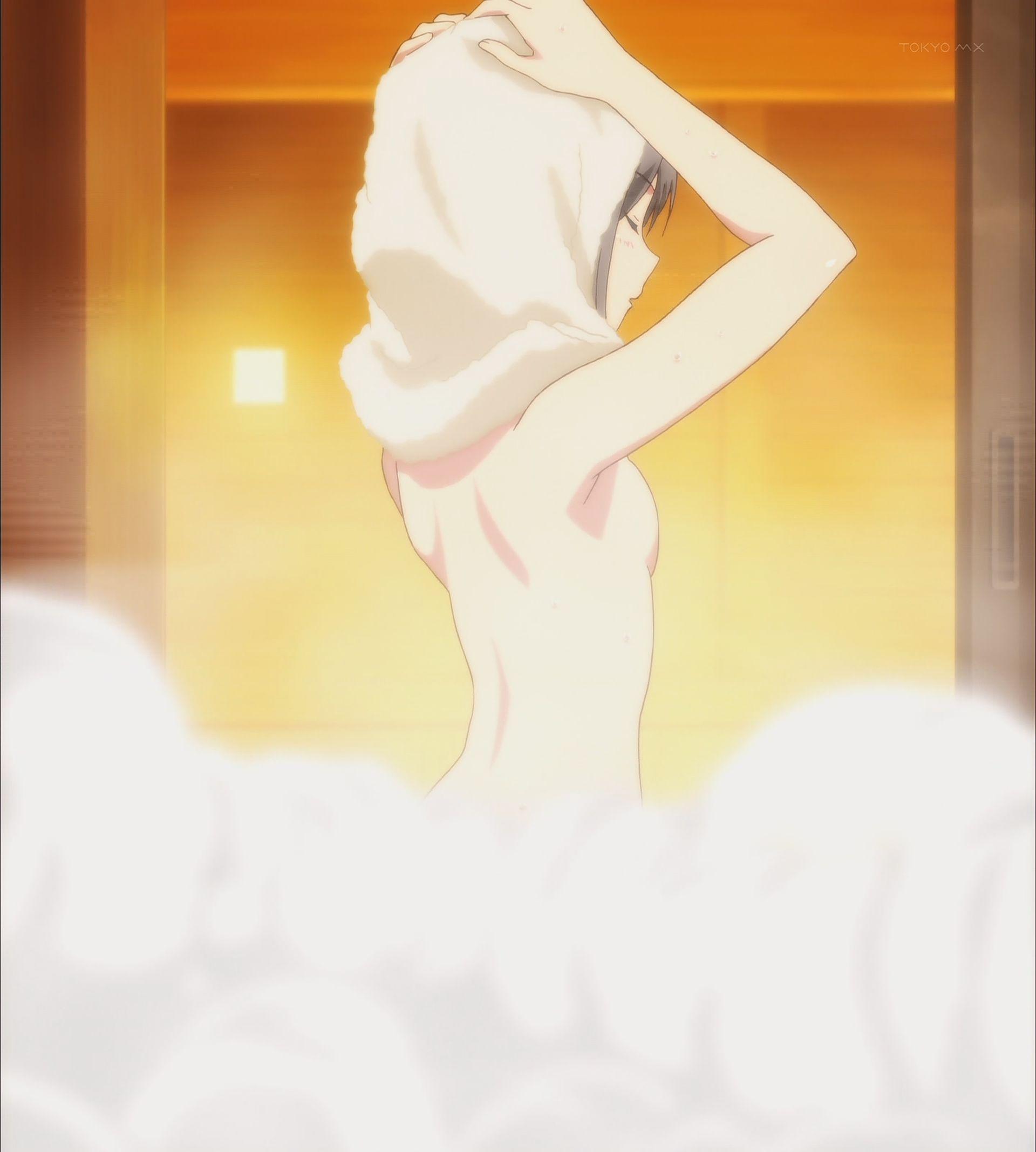 お風呂あがり月子