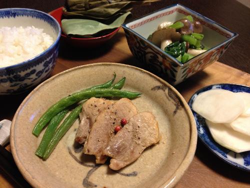 Oct24_豚ヒレ焼き