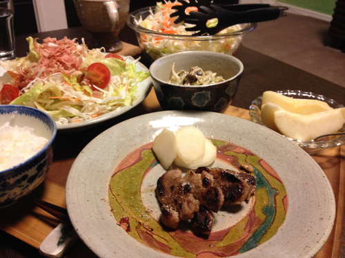 Oct29_豚ヒレ焼き
