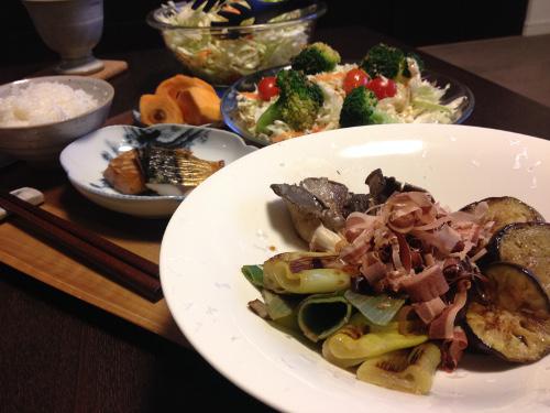 Oct31_野菜の素焼き
