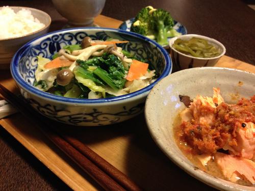 Nov07_鮭のトマトソース煮