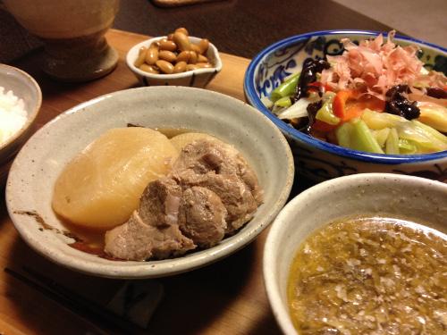 Nov12_豚肉と大根煮
