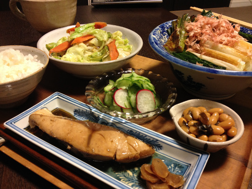 Nov21_わらさの生姜煮