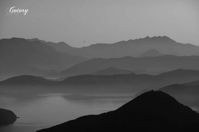七ツ岳遠景