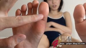 スク水ロリ美少女JK足裏クラッシュ個人撮影/しとう和歌