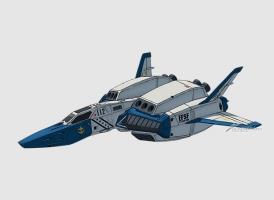 FF-3F 宇宙戦闘機セイバーフィッシュ