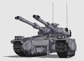 61式戦車初期2型